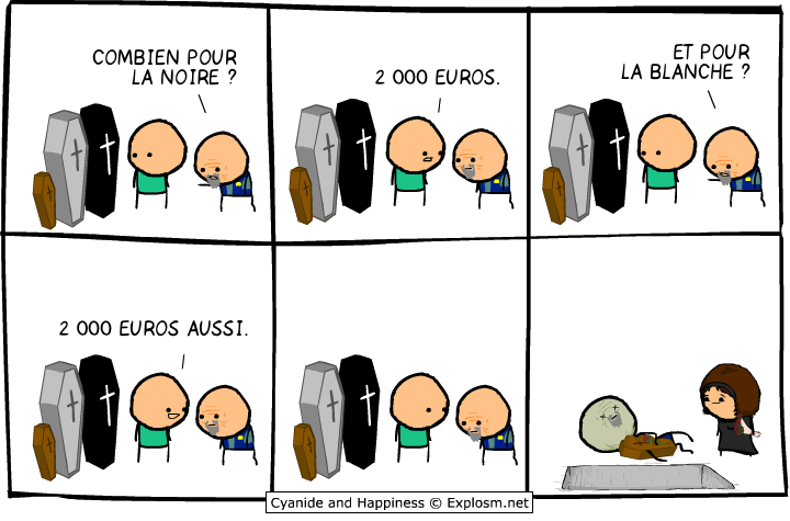 tombe cher cyanide