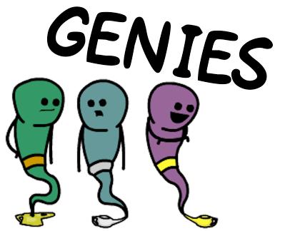 image des genies pour suite comics
