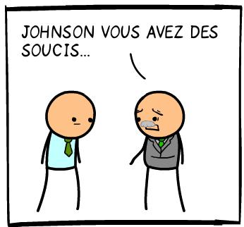 Johnson et ses soucis