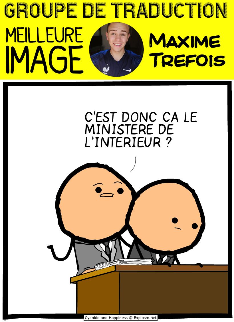 maxime ministre bureau