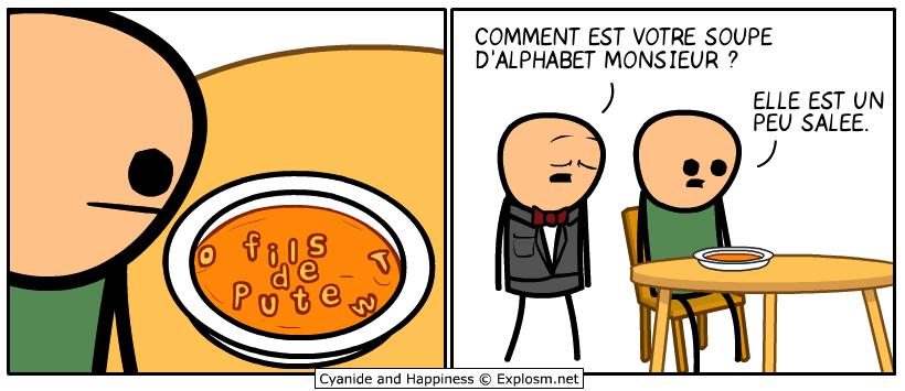 image comment est votre soupe
