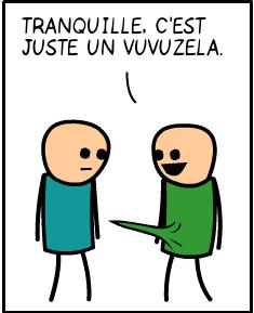 Juste une vuvuzela