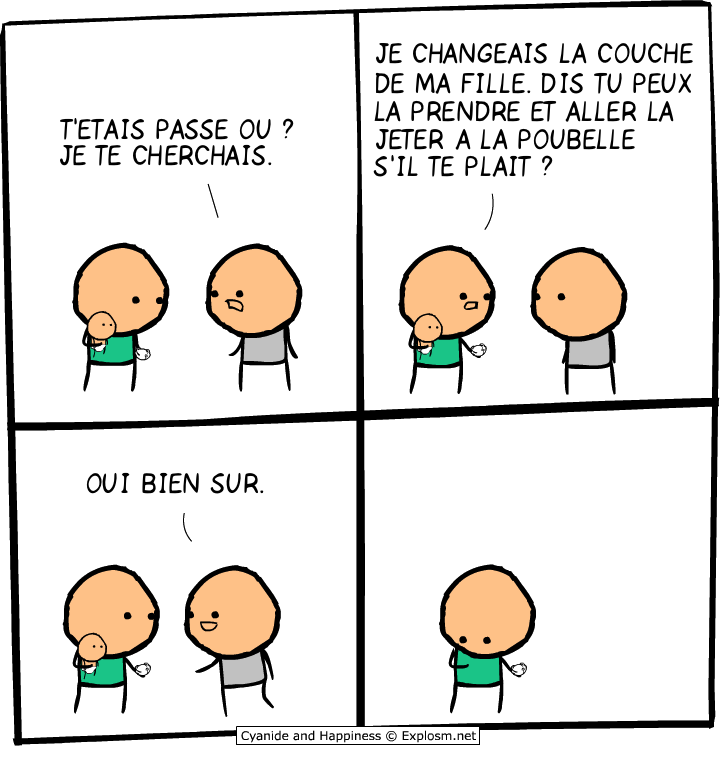 fille couche cyanide