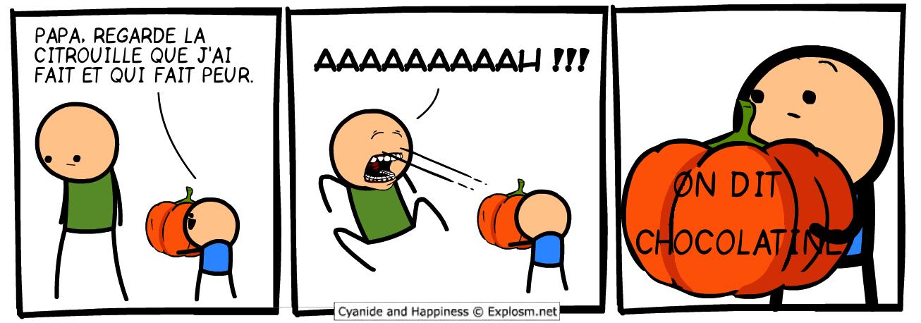 citrouille peur cyanide