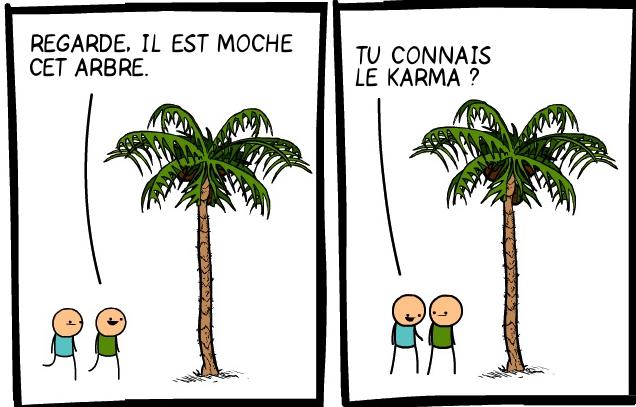 Karma de l'arbre
