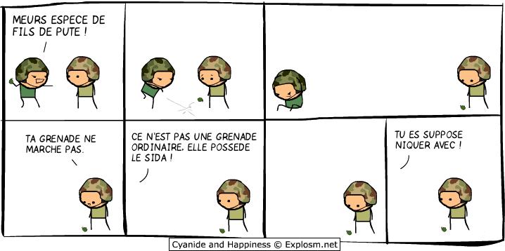 grenade guerre cyanide