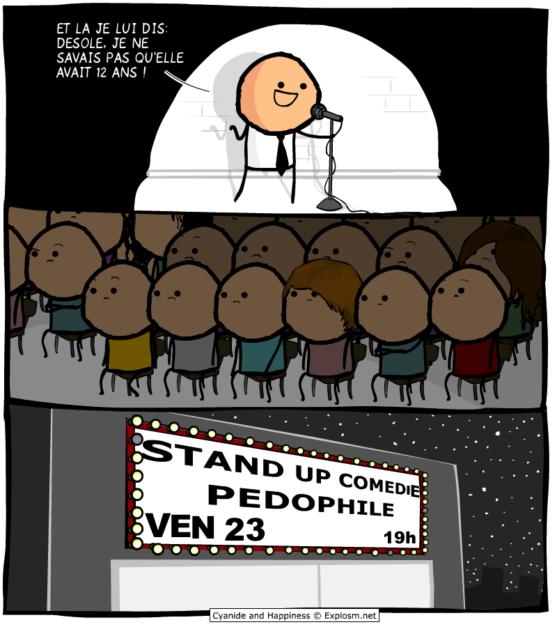 stand up cyanide