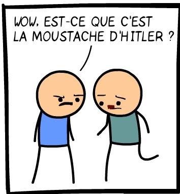 Moustache d'Hitler