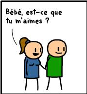 Bébé est-ce tu m'aimes ?