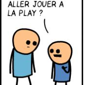 Jouer à la play