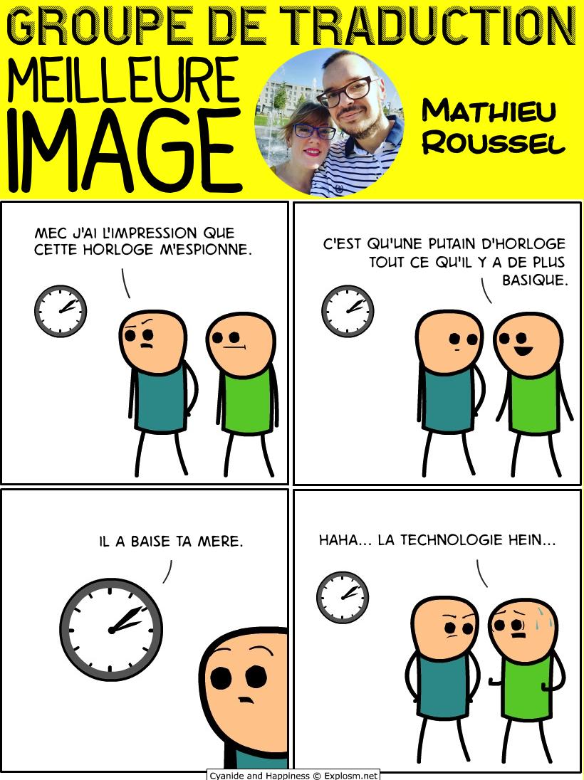 horloge maman cyanide