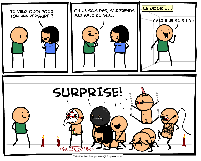 surprise sex cyanide
