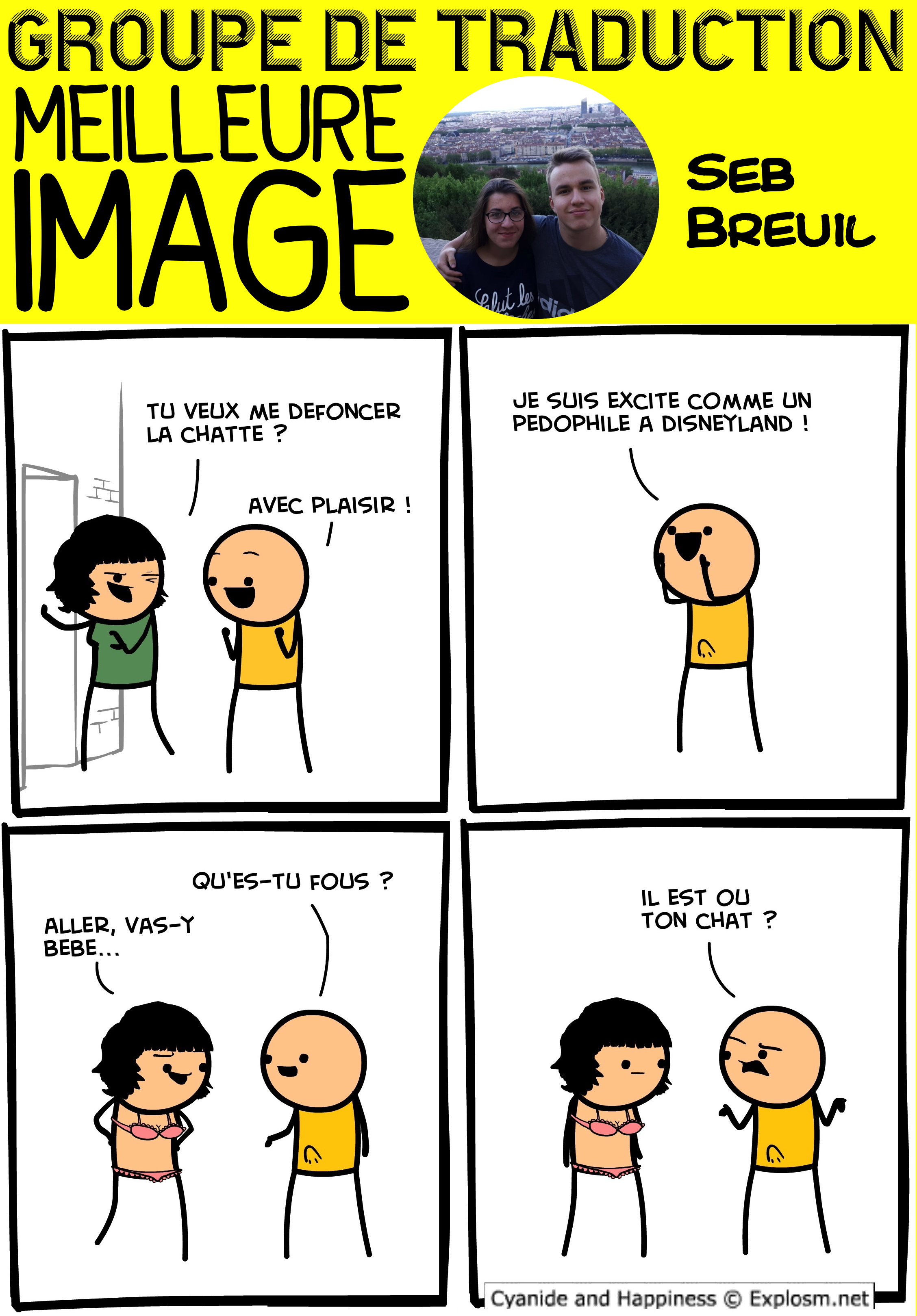 chat défoncer cyanide