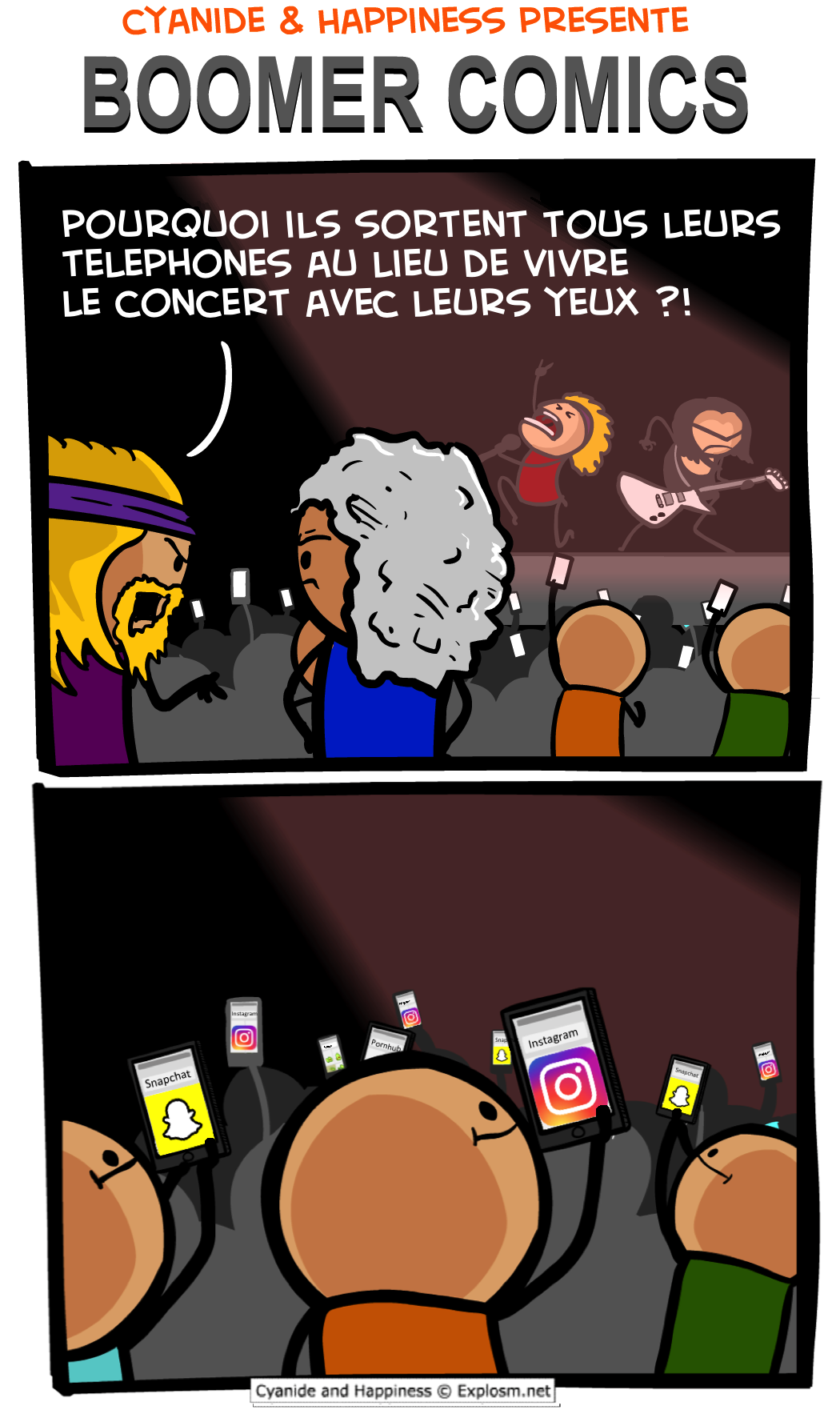 concerts boomer cyanide