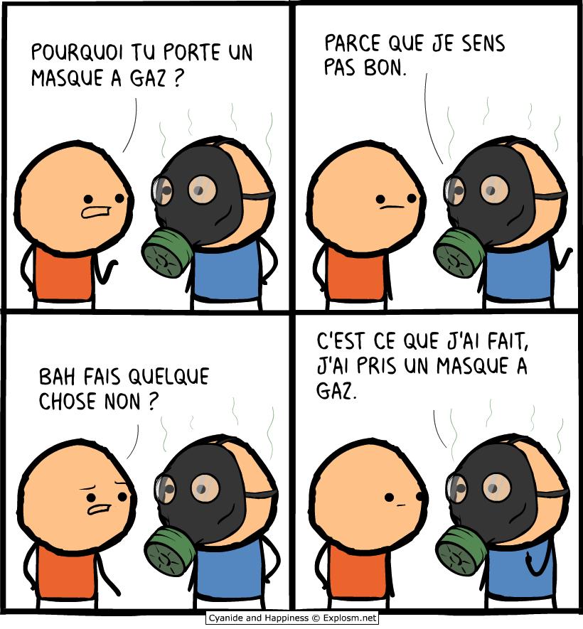 masque gaz cyanide