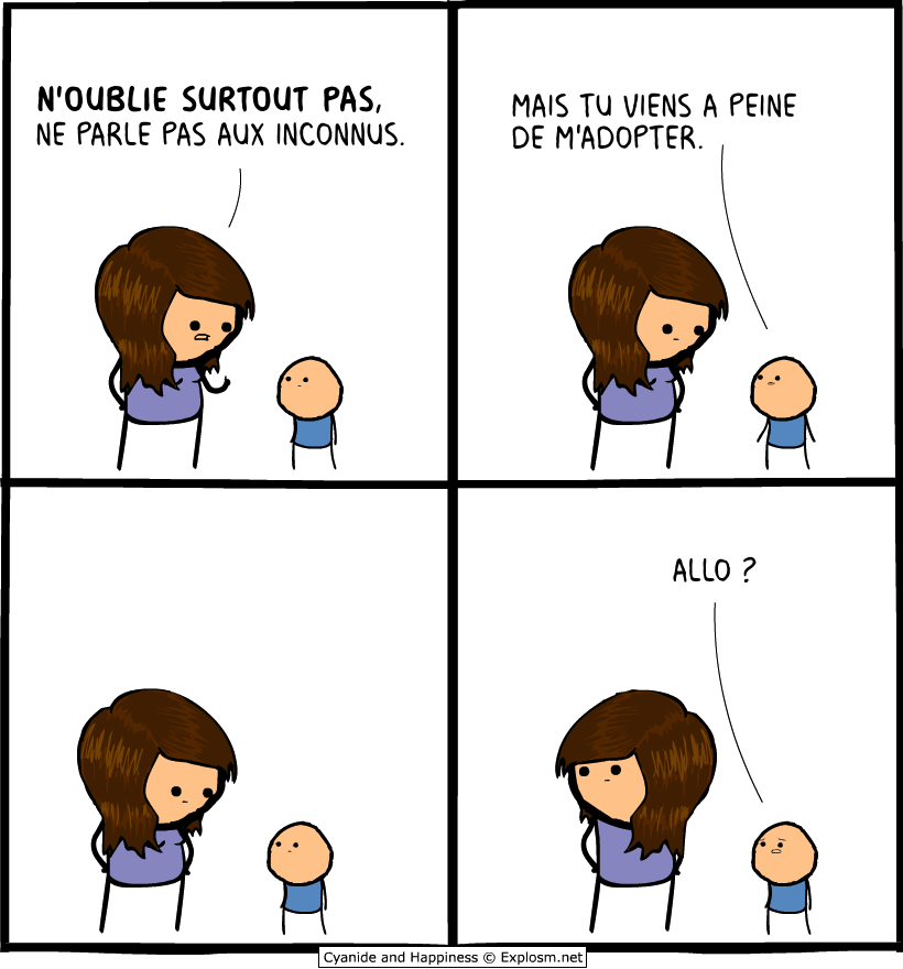 inconnue adopter cyanide
