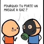 masque prout image