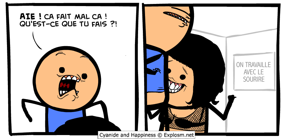 dents sourire cyanide