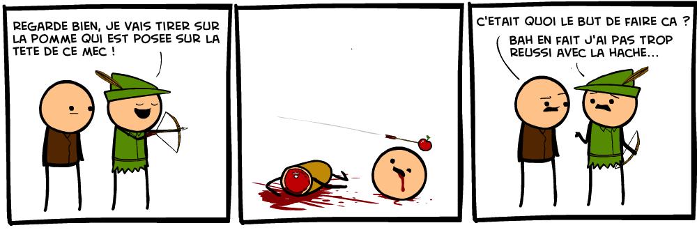 hache pomme cyanide