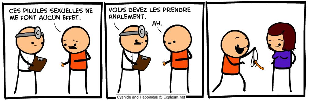 anal pilule cyanide