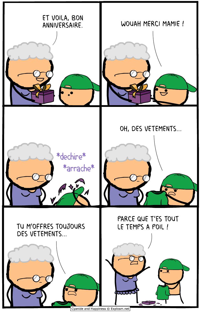 cadeau cyanide