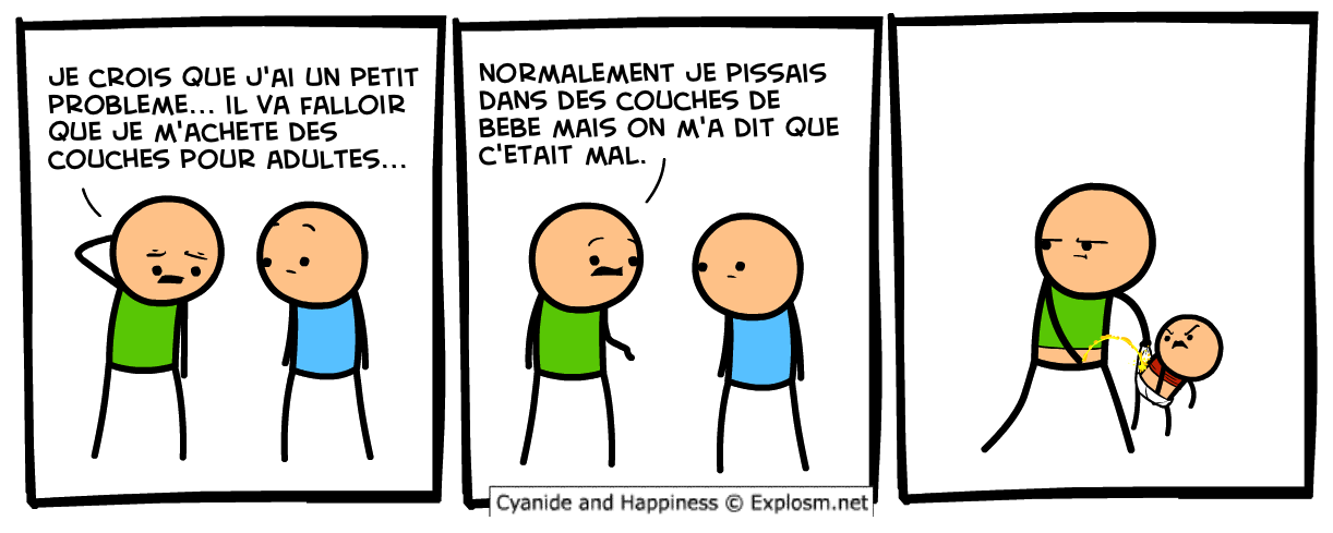 couches adultes cyanide