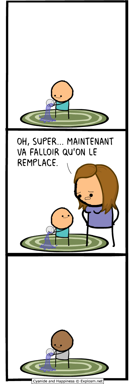 remplacer gosse cyanide