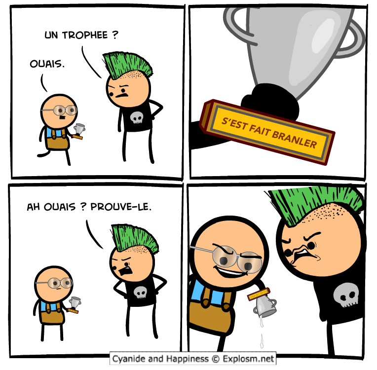 trophée branler cyanide
