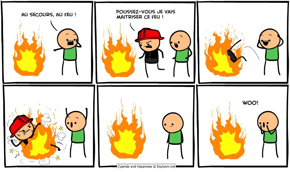 feu pompier cyanide