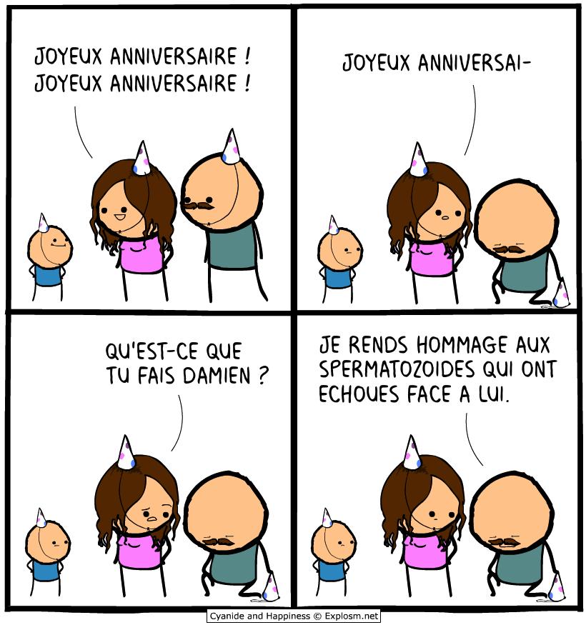 sperme mort cyanide