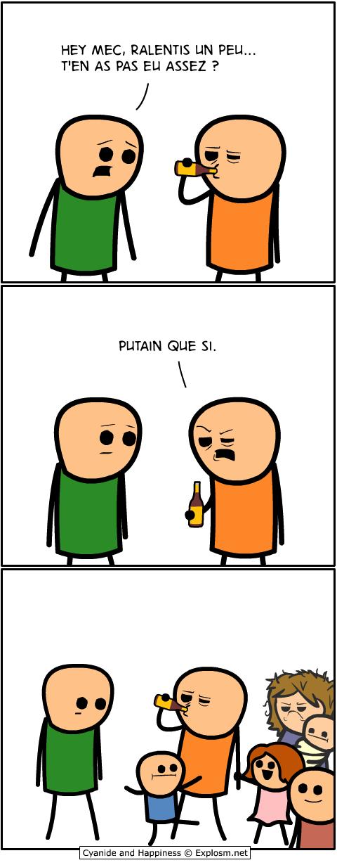 alcool ralentir cyanide