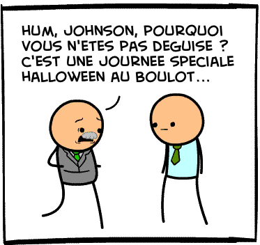 Déguisement de Johnson