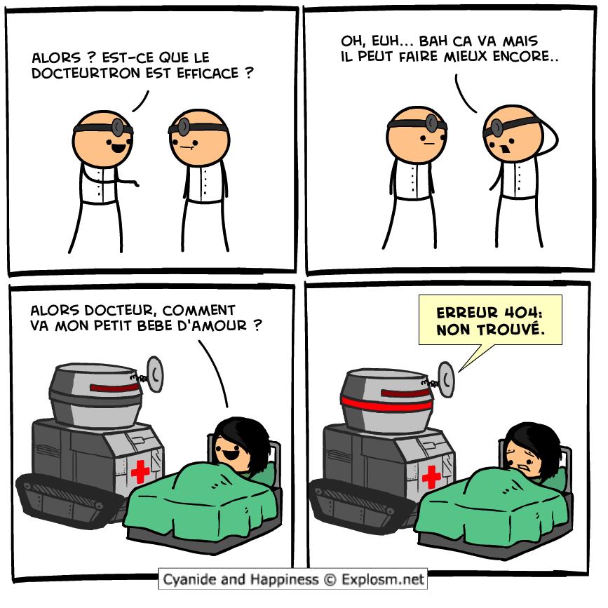robot docteur cyanide