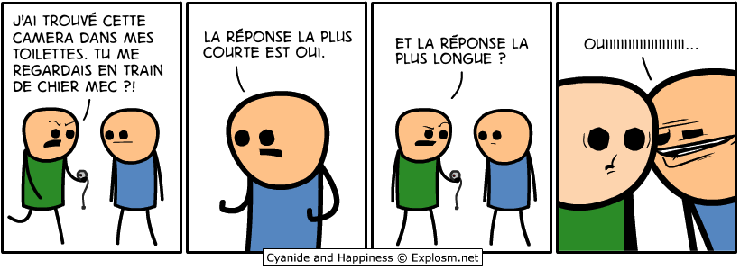 camera chiottes cyanide