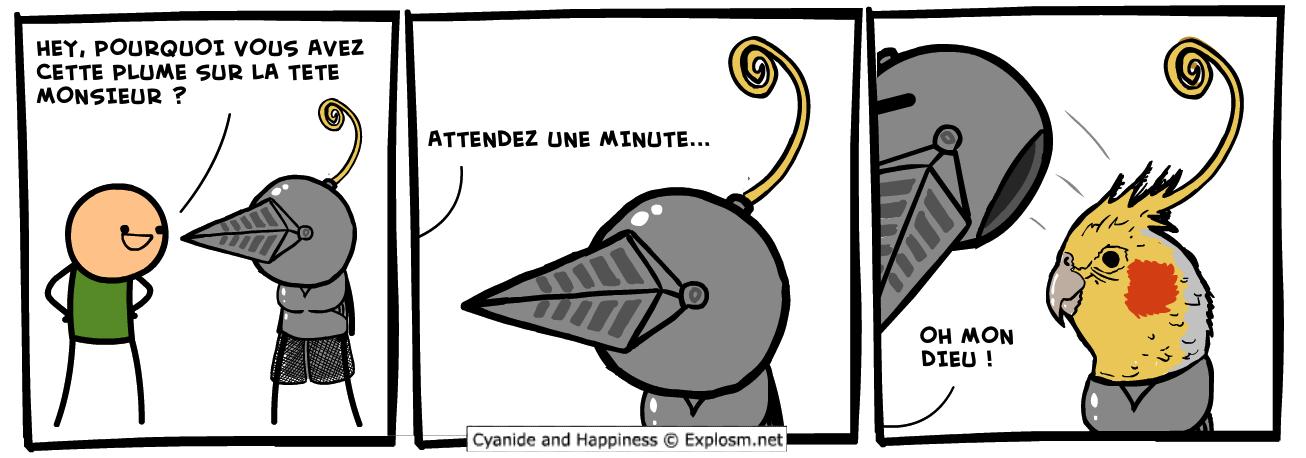 perroquet wtf cyanide