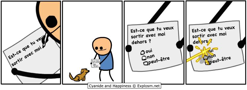 chien sortir cyanide
