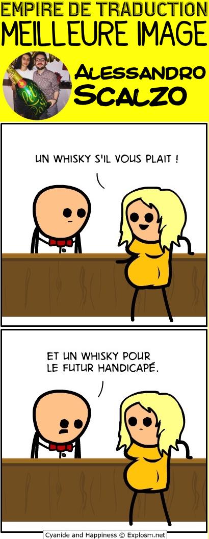 whisky fils cyanide