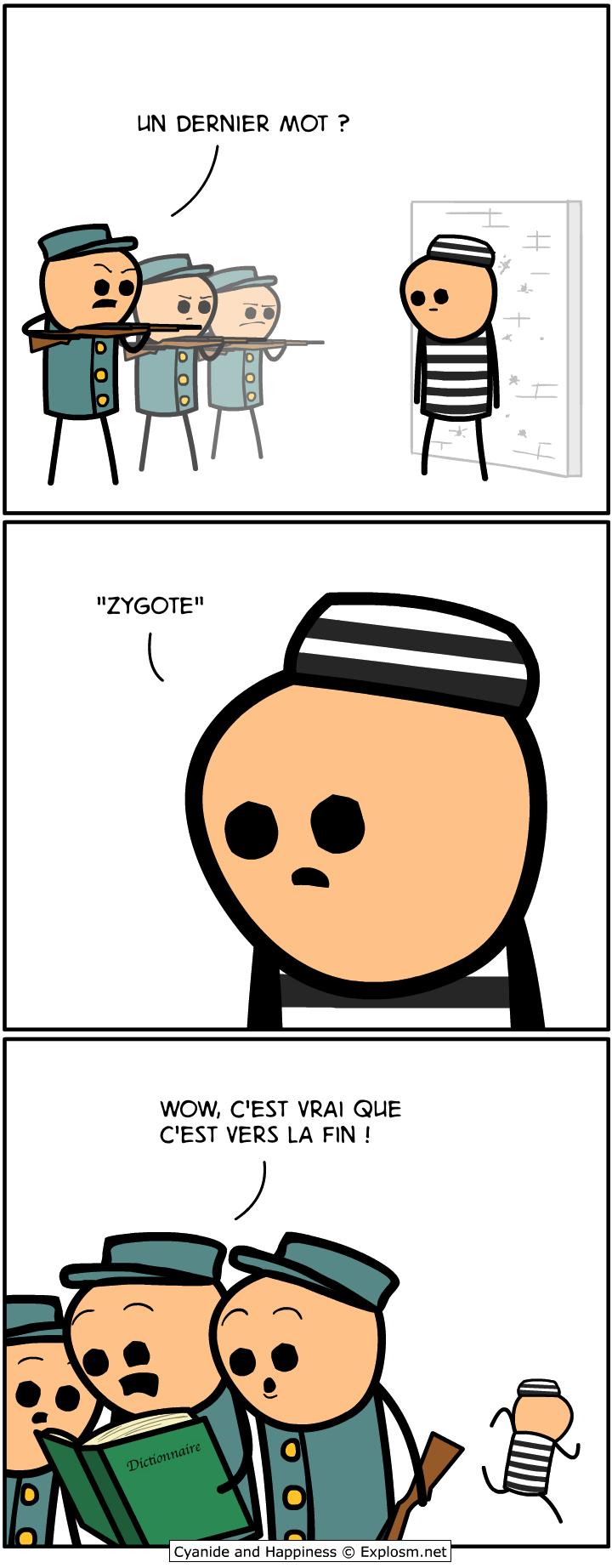 mot dernier cyanide