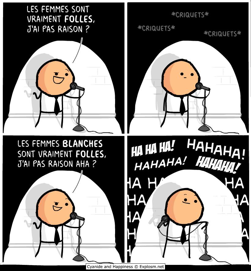 blague blanche cyanide