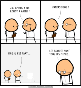 robot amour cyanide